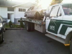 Scrap Car Removed from Mission BC