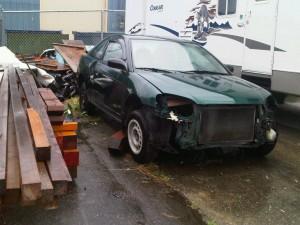 Green Junk car now gets a green life