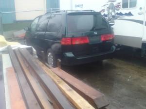 1998 Honda Odyssey Scrap